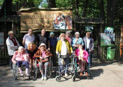 Výlet do zoologické zahrady v Hodoníně